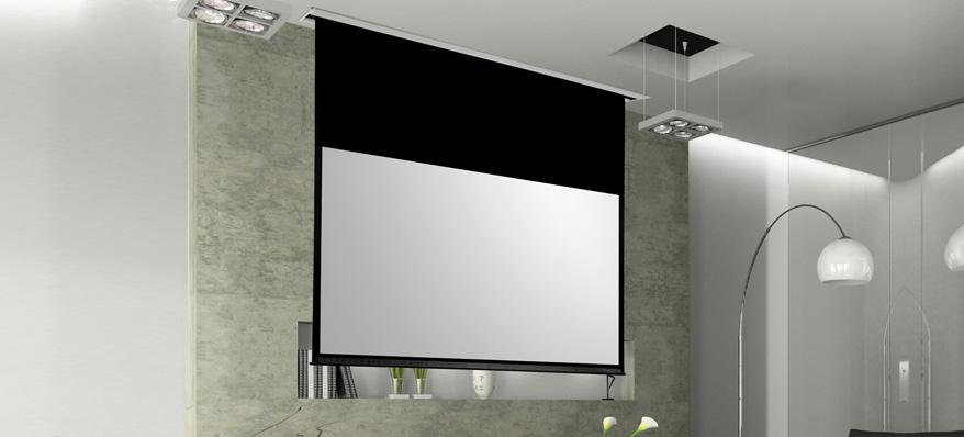 Crans de projection avs37 audio video service - Ecran de projection encastrable plafond ...